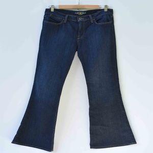 Lucky Brand Charlotte Kick Flare Dark Wash Jeans